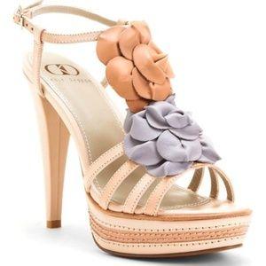Kelsi Dagger Nude & Apricot Hania Sandal, 7.5